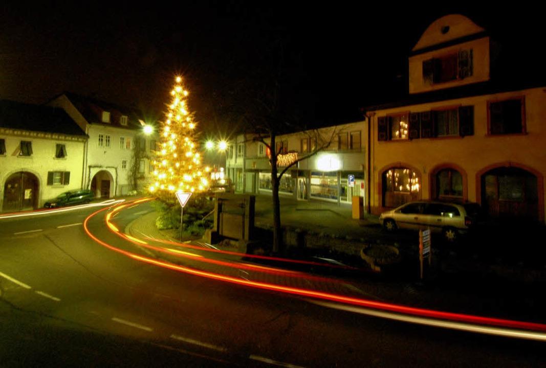<Bildtext>Da mag er im weihnachtlichen...er Gemeinderat die Geister.</Bildtext>    Foto: Zimmermann-Dürkop