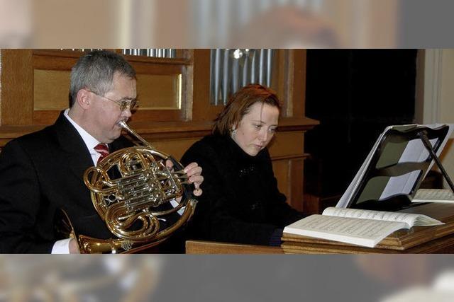 Musikalische Einstimmung auf die Weihnachtszeit