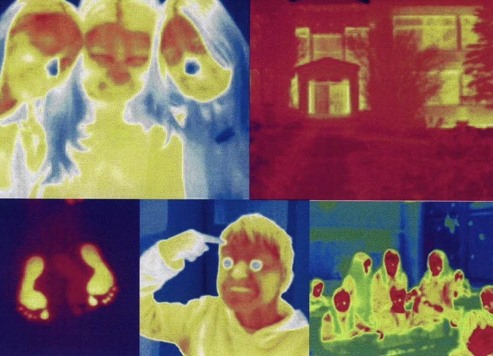 Die Welt durch die Linse einer Wärmebi...ler sich selbst und das Umfeld erlebt.    Foto: Schlüchttal-schule