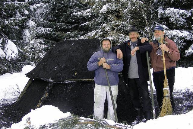Erster Wintermeiler in Bergalingen
