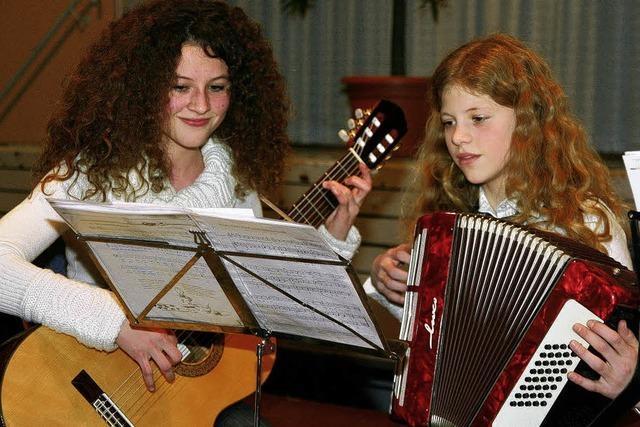 Beim MGV-Konzert singt das Publikum kräftig mit