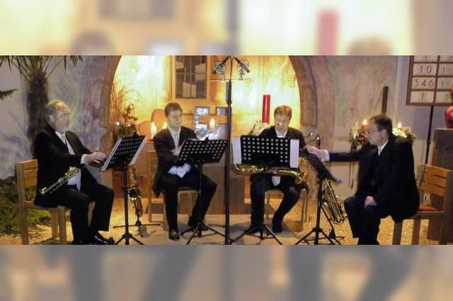 Die Vielfalt der Saxofonklänge überrascht