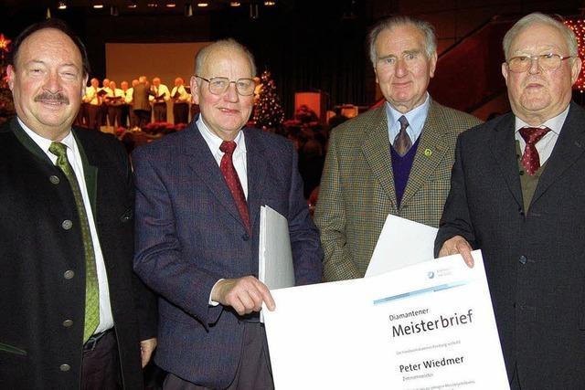 Urkunden für Altmeister