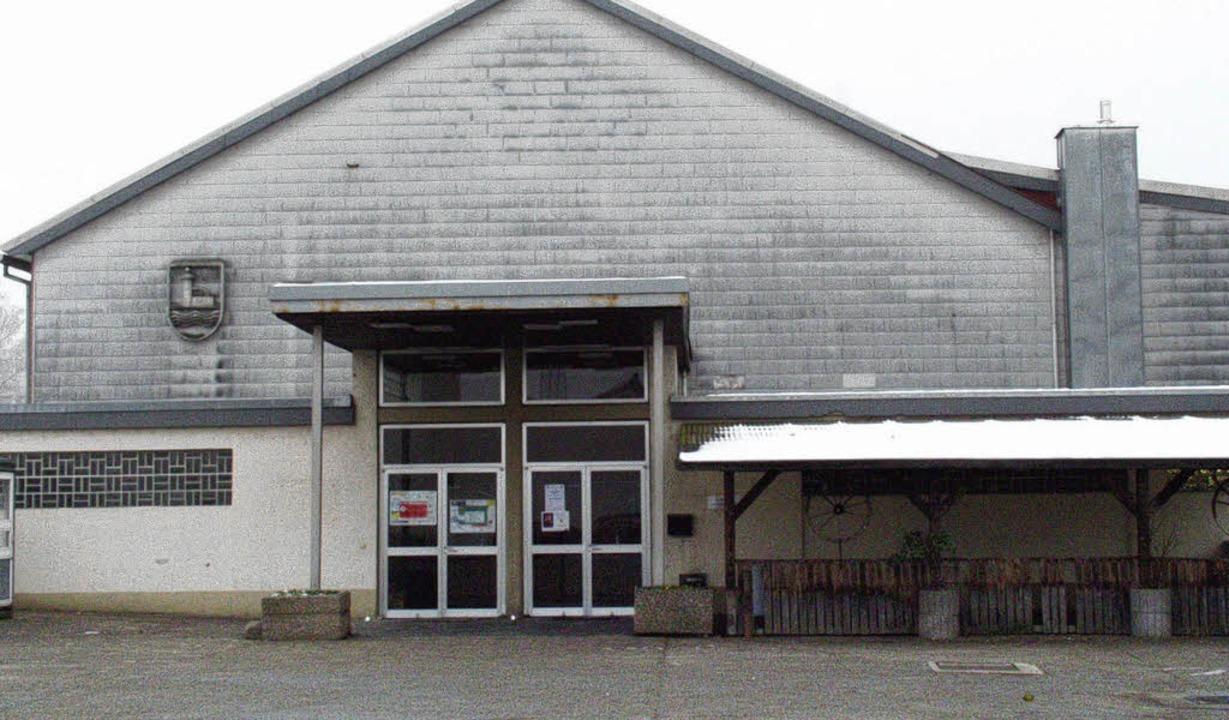 Sporthalle Brombach: Die Halle ist in ...rden, hieß es bei den Freien Wählern.     Foto: Schleer