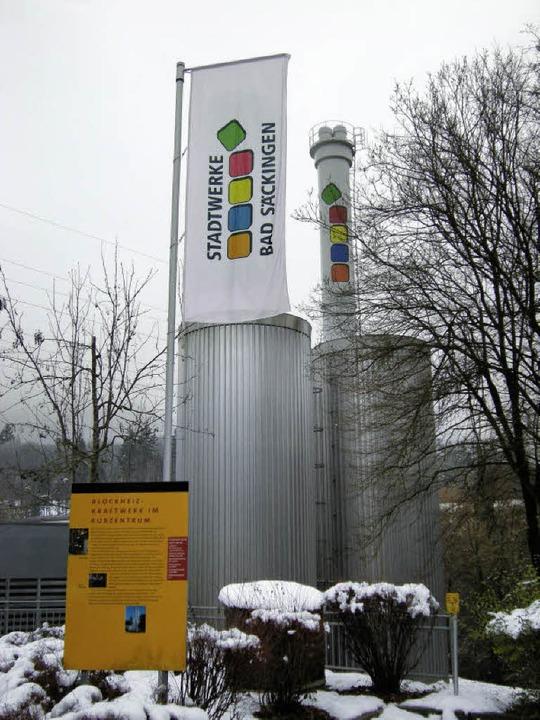 Das Blockheizkraftwerk im Kurzentrum wird von Gasgeneratoren betrieben.  | Foto: Heike Armbruster