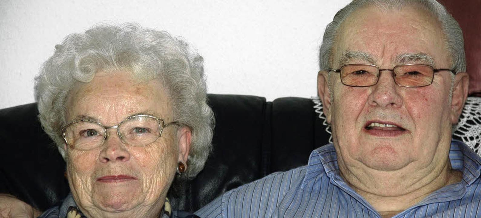 Gerd und Luise Schneider    Foto: Bingold