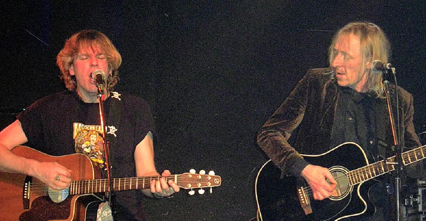 Tim Beam begeisterte mit seiner Musik im AJ.     Foto: Felix Pacholleck