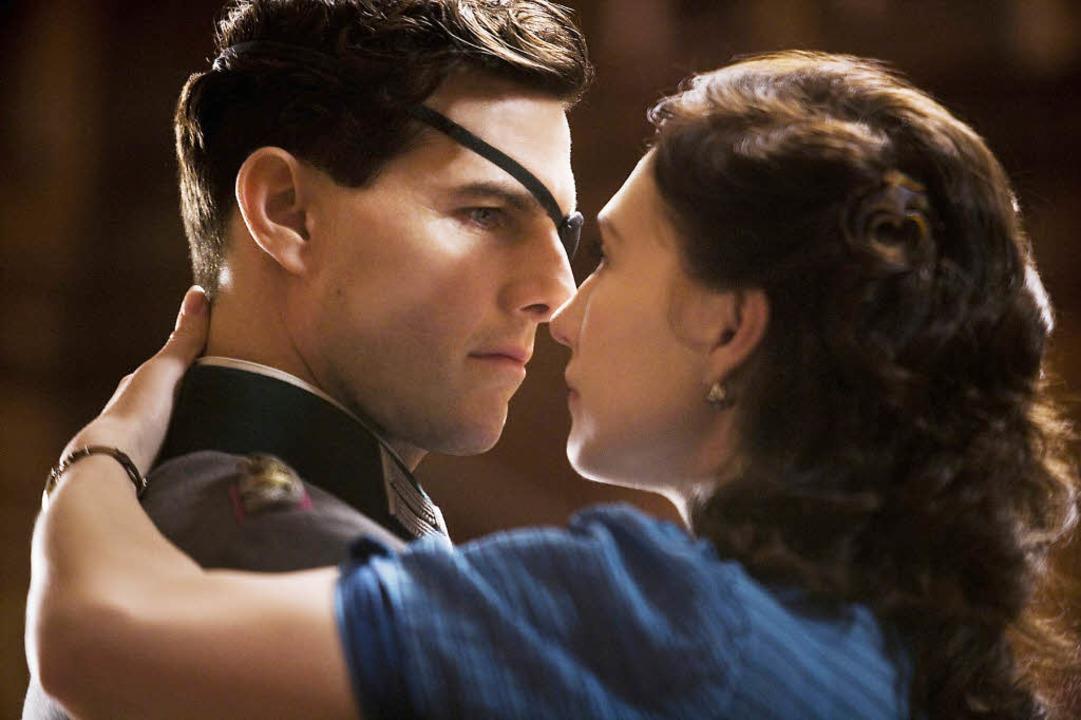 Claus Schenk Graf von Stauffenberg und...erg (Tom Cruise und Carice van Houten)    Foto: Fox
