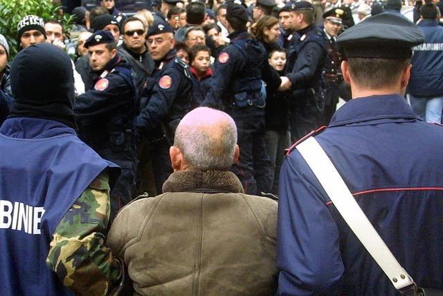 Fast 100 Mafiosi auf Sizilien gefasst
