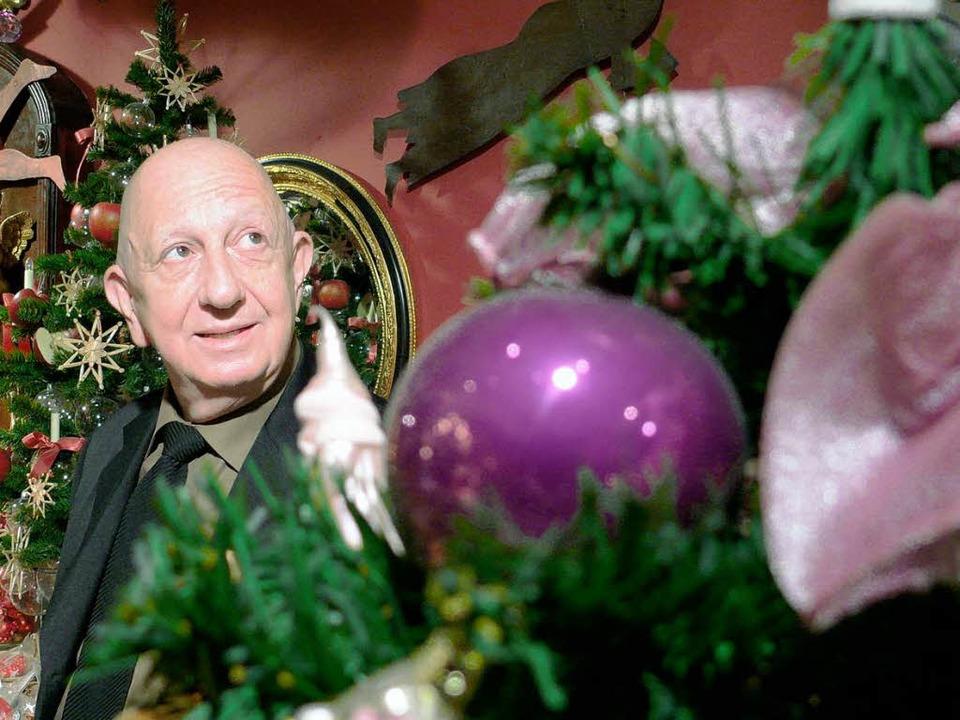 Weihnachtsexperte Johann Wanner kennt sich mit den Christbaum-Trends aus.    Foto: Privat