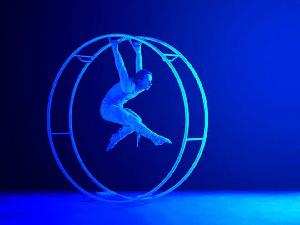Kein typischer Zirkusgenosse: Röhnrad-...Simon gehört auch zum Circolo-Ensemble  | Foto: PR