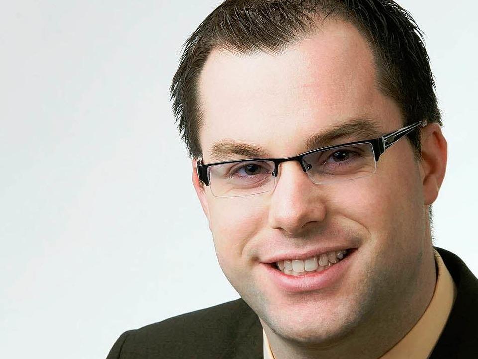 Tritt zur  Bürgermeisterwahl in Laufen... Diplom-Verwaltungswirt Ulrich Krieger  | Foto: bz
