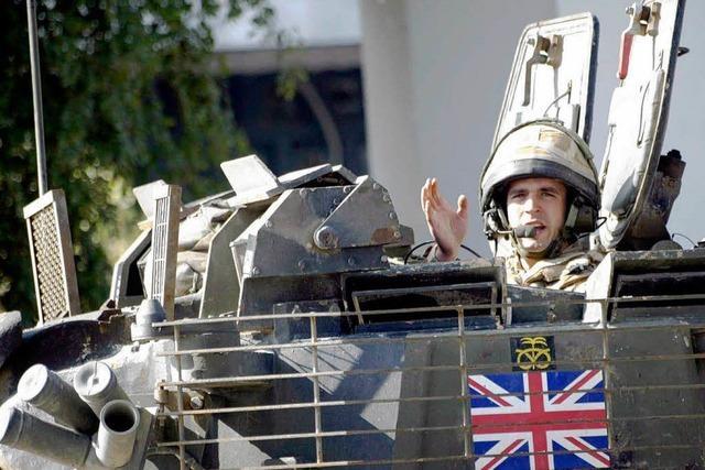 Brown: Rückzug aus Irak