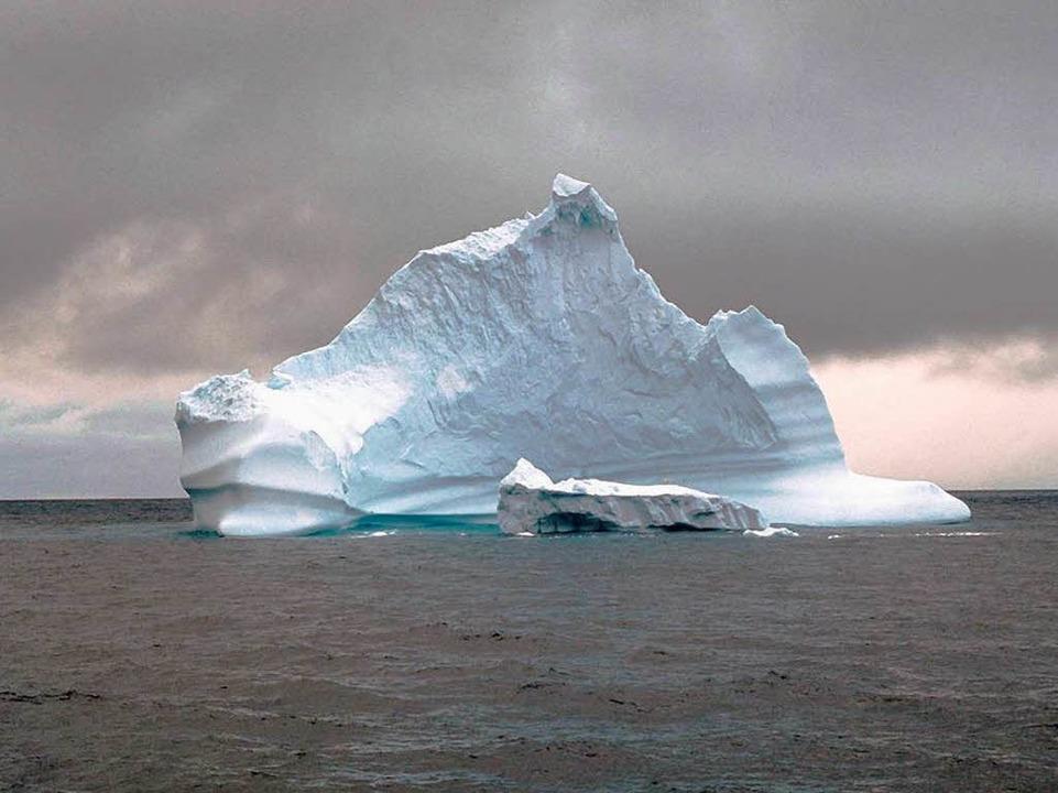 Dieser Eisberg schwimmt  in der kanadischen Arktis.  | Foto: C3338 Mayr