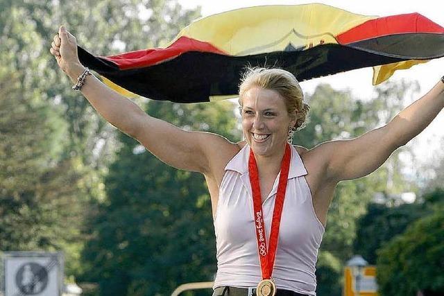 Christina Obergföll ist Offenburgs Sportlerin des Jahres