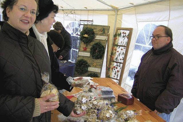 Großes Angebot beim Weihnachtsmarkt