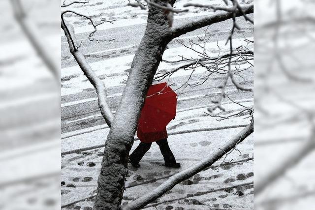 Der Schnee dämpft Mobilität und Kauflaune