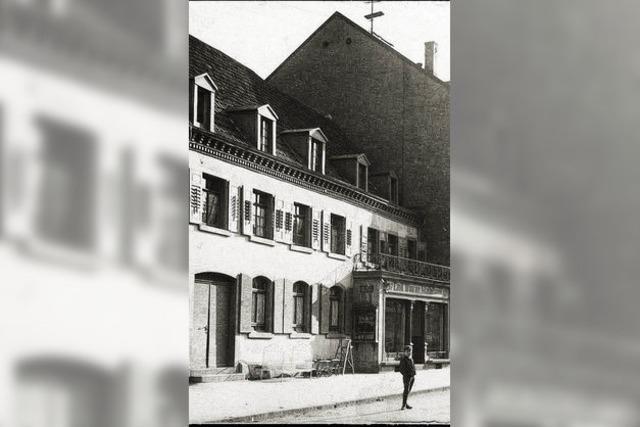 Heute vor 100 Jahren brannte Möbel-Woerner ab