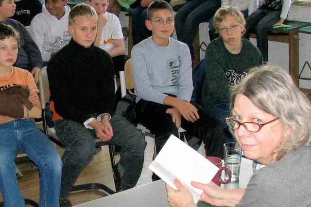 Lese-Förderung an Abt-Columban-Schule