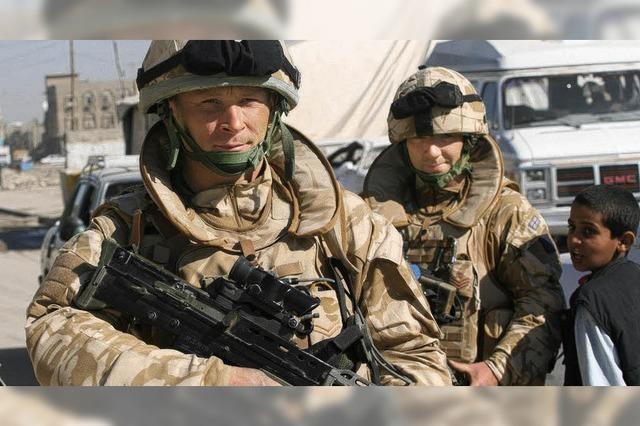 Brown verkündet Rückzug aus Irak