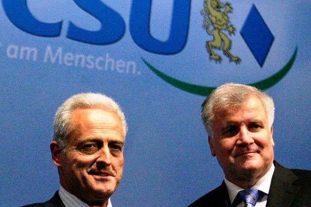 CSU droht Merkel mit Konjunkturpaket-Veto