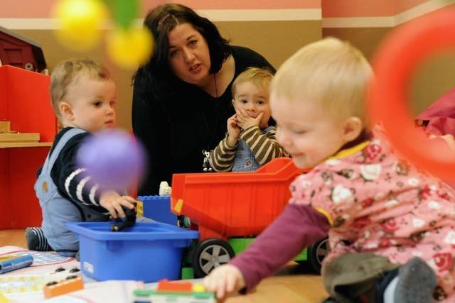 Immer mehr kleine Landeskinder werden betreut