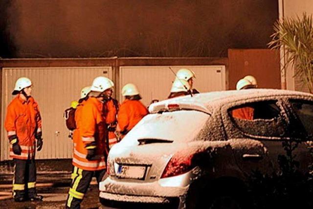 Kellerbrand in Opfingen