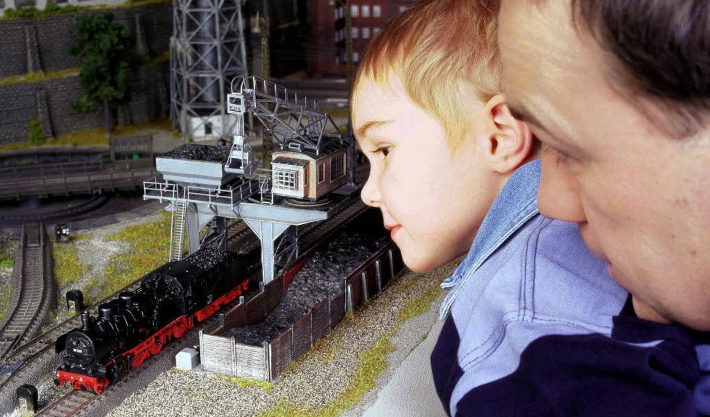 <ppp> oder klassische Modelleisenbahn: Technik fasziniert</ppp>    Foto: dpa