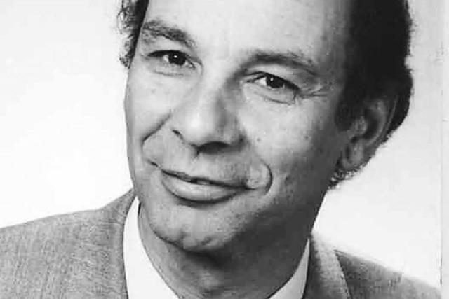 Alt-Stadtrat Werner Haas gestorben