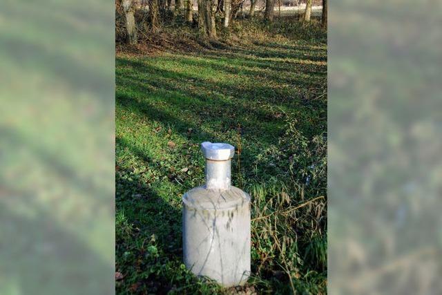 Brunnenbau im Januar