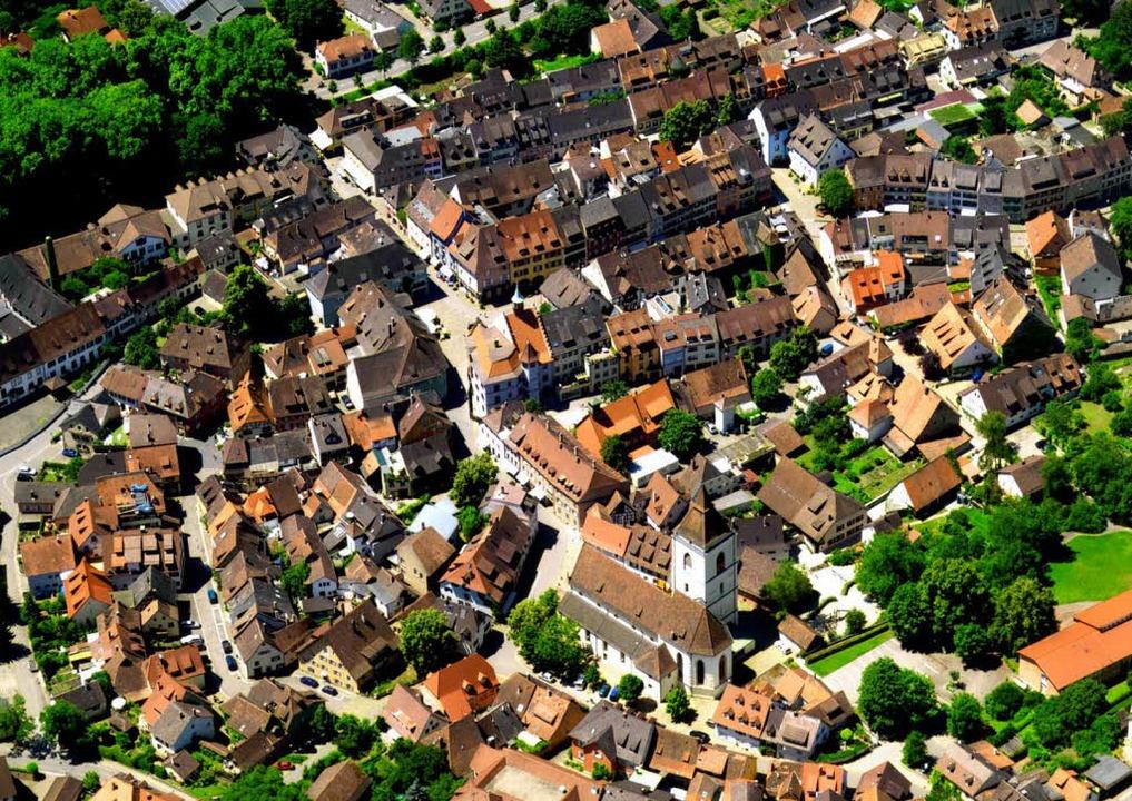 Hier, in der denkmalgeschützten Altstadt,  liegt das Zentrum der Katastrophe  | Foto: Sparkasse