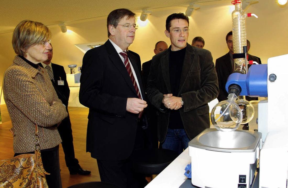 <Bildtext>Finanzminister Willi Stächel...itete den Landespolitiker. </Bildtext>    Foto: Hans Christof Wagner