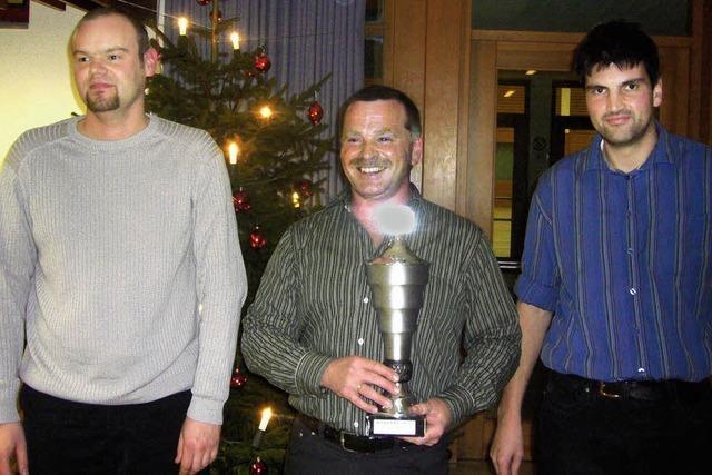 Hans-Peter Riesterer zum dritten Mal Vereinsmeister
