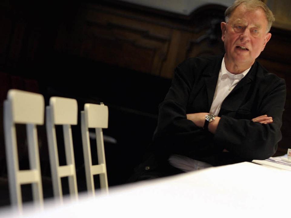 Wird er der neue Dienstherr von Klar? ...des Berliner Ensembles, Claus Peymann.  | Foto: ddp