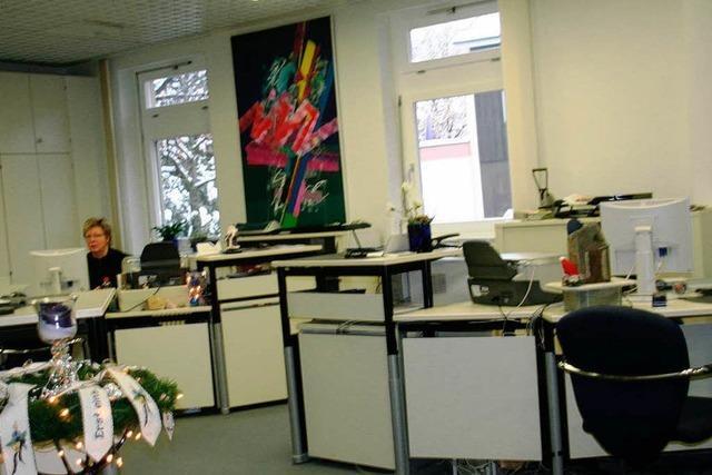 Zehn Jahre Stadtbüro in Schopfheim