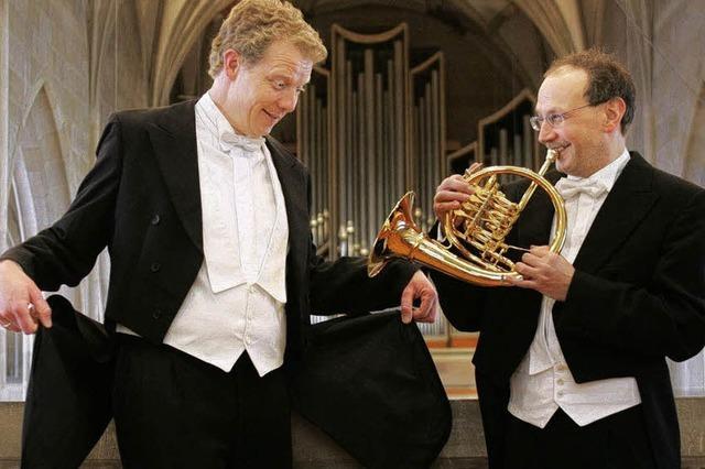 Trompete und Orgel in der Klosterkirche