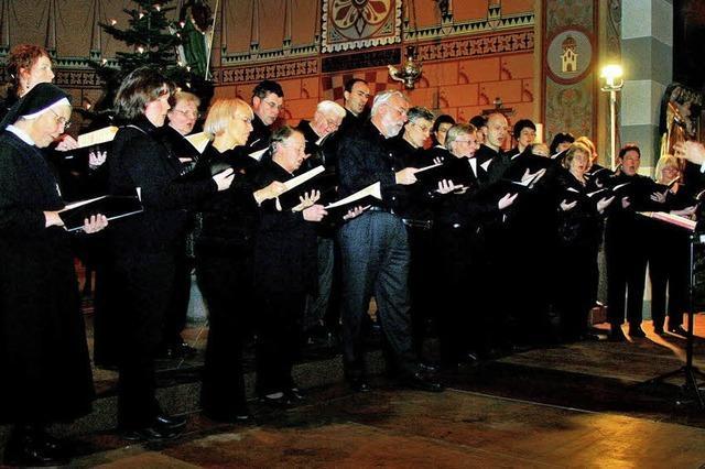 Weihnachtliche Musik und Texte