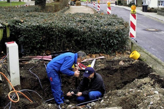 Baustelle Dietenbacher Straße teurer