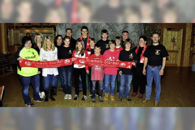 Fans feiern ihren Star