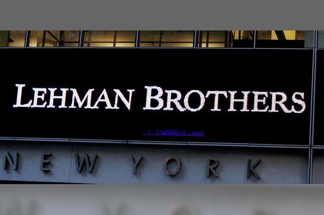 Das Lehman-Geld kommt
