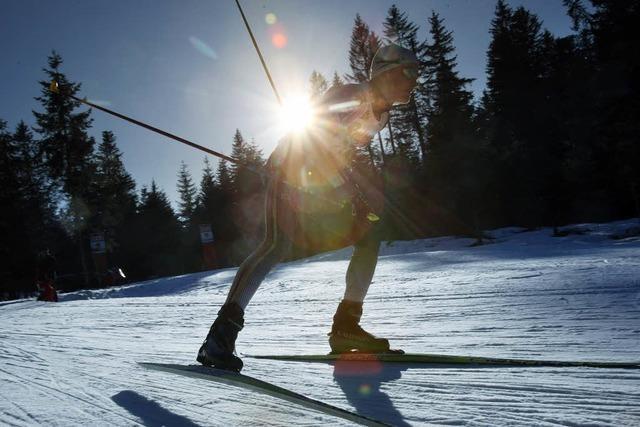 Bilder des Tages: Die Sonne im Rücken
