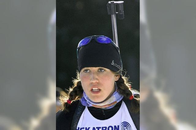 Helena Gnädinger behauptet sich im Sprint
