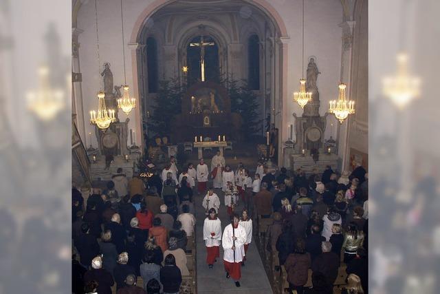Feierliche Messe zum Fest