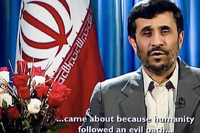 Frohes Fest wünscht Teheran