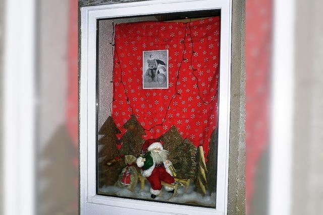 Adventsfenster finden Anklang