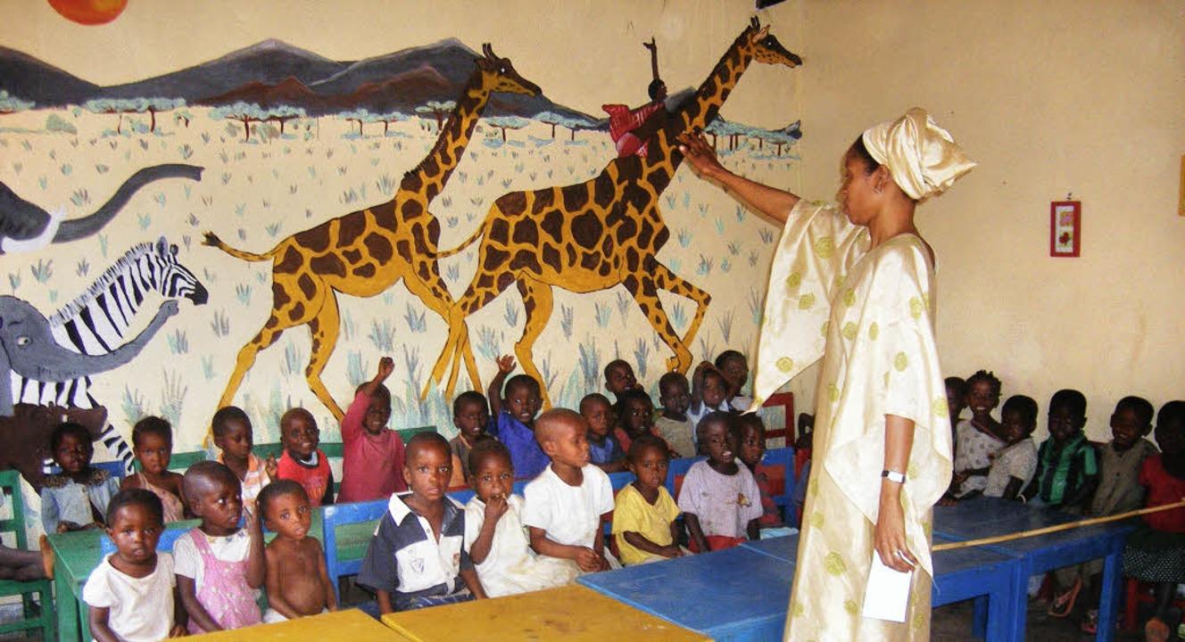 Information  im Kinderhaus Bühl über Burundi   | Foto: BZ