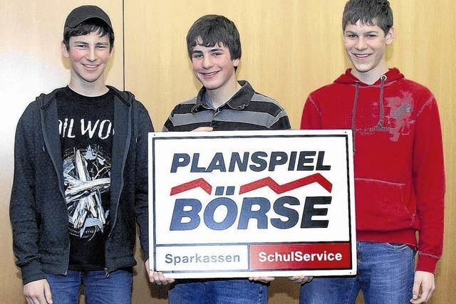 Scheffel-Gymnasiasten waren am erfolgreichsten