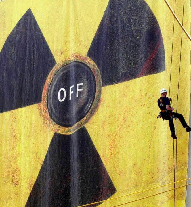 Das AKW Obrigheim ist nach dem  gesetz...enen Atomausstieg stillgelegt worden.   | Foto: ddp