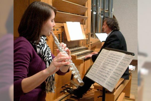 Erfahrener Musiker und junges Talent