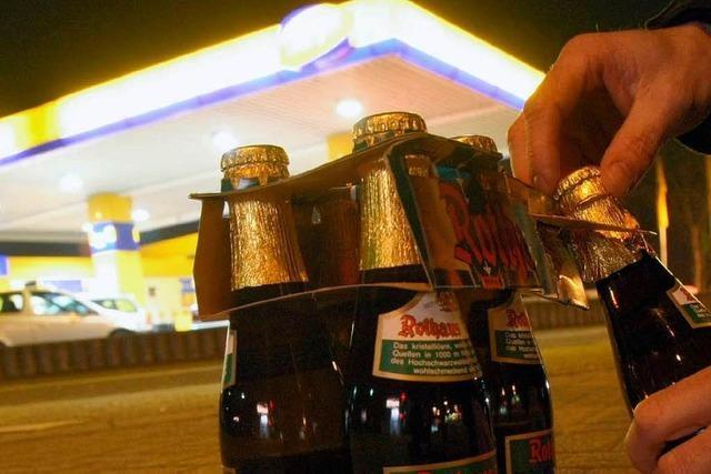 Alkoholverbot auf Eis